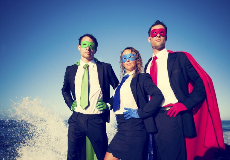 Self-employed Superheroes